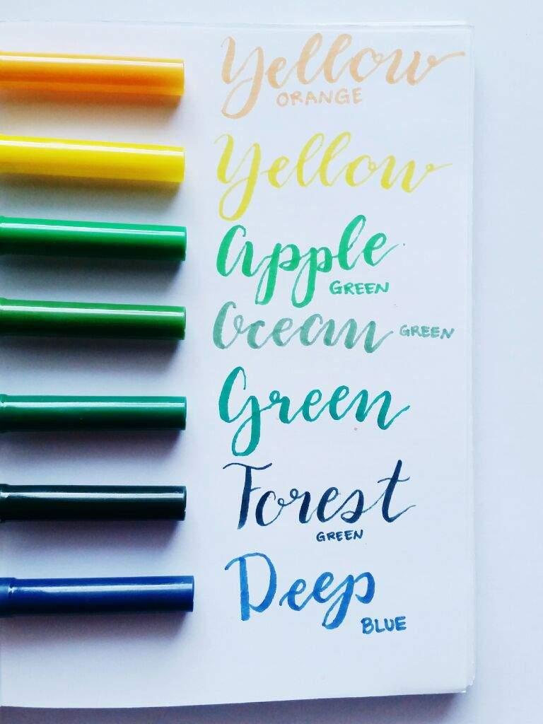 Li\'l Hands Coloring Pens Swatches | Studying Amino Amino