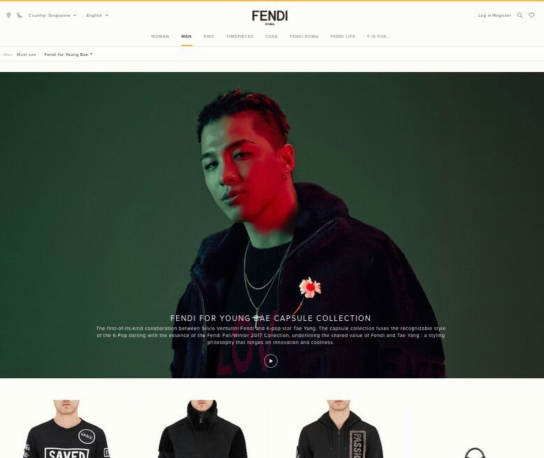 520cf80c200c Fendi Website Update  PHOTOS