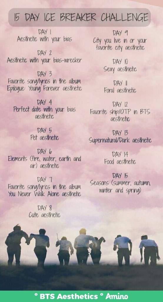 Spring Day Aesthetic (Day 7)   BTS Aesthetics ™ Amino