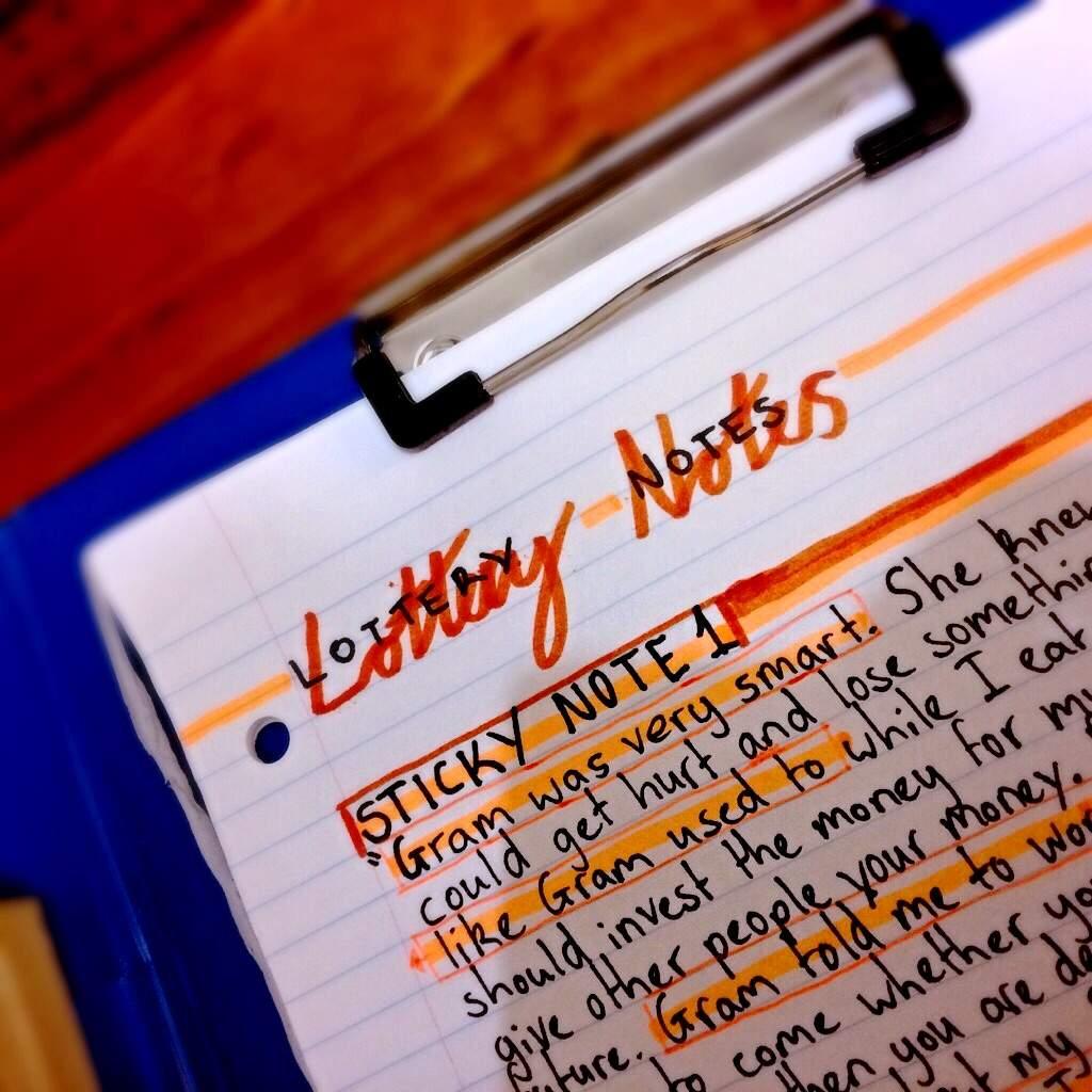 English notes 🐝 | Studying Amino Amino