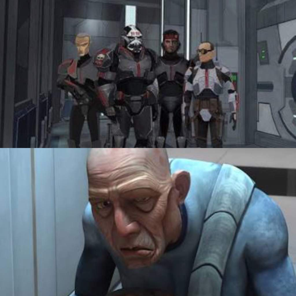 99 From The Clone Wars Season Three Was Actually Original Bad Batch Member For Those Who Dont Know Appeared In Unfinished