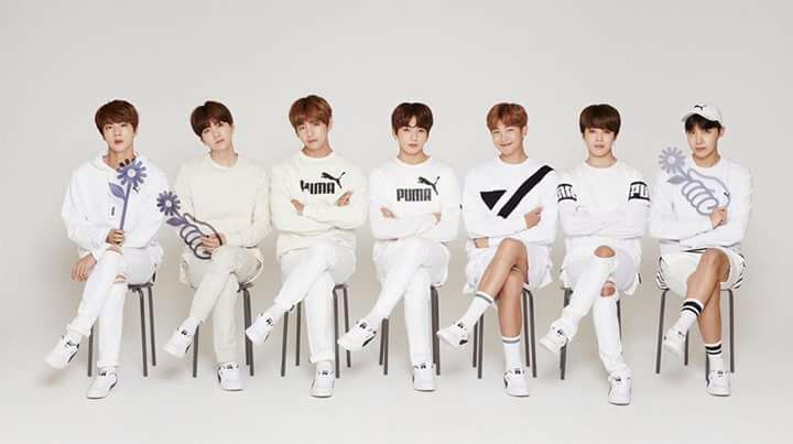 b577c305b20 The shoe line is called  Puma x BTS Court Star  and comes in white. The  clean design features BTS s debut date under the  Puma  logo