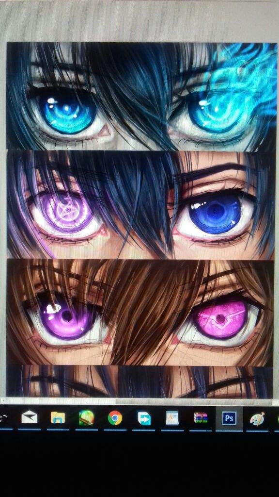 Digital Art 10 Anime Eyes