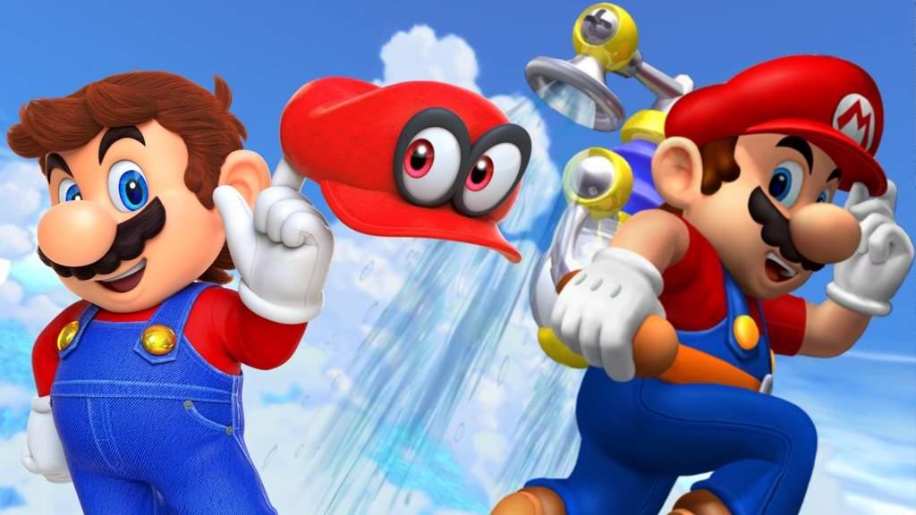 What if super mario Odyssey was Super Mario Sunshine