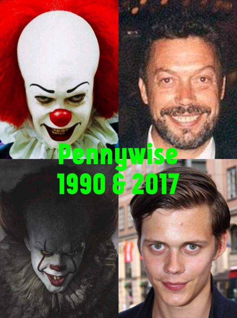 'IT' Actors 1990 & 2017 | Horror Amino