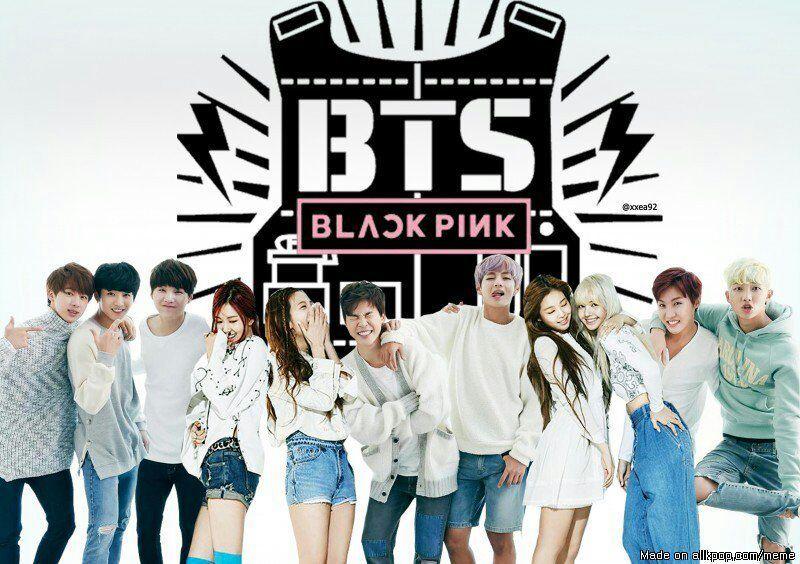 BTS And Blackpink