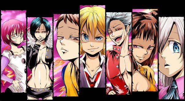 картинки из 7 смертных грехов аниме