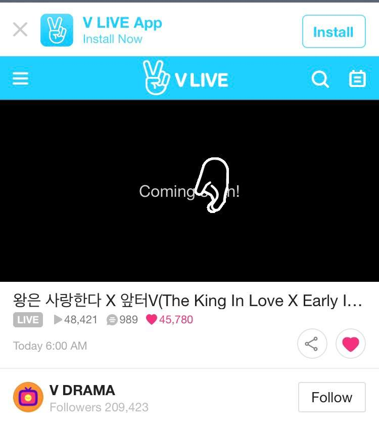 The King's Love' Interview on VLive | Girls' Generation/Snsd