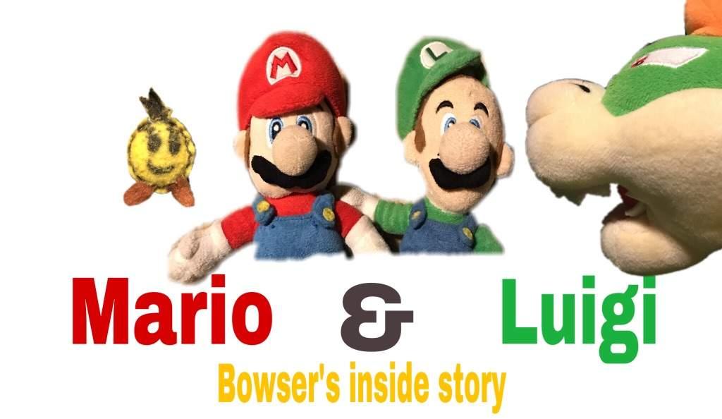 M L Bis Box Art In Plush Form Mario Luigi Rpgs Amino