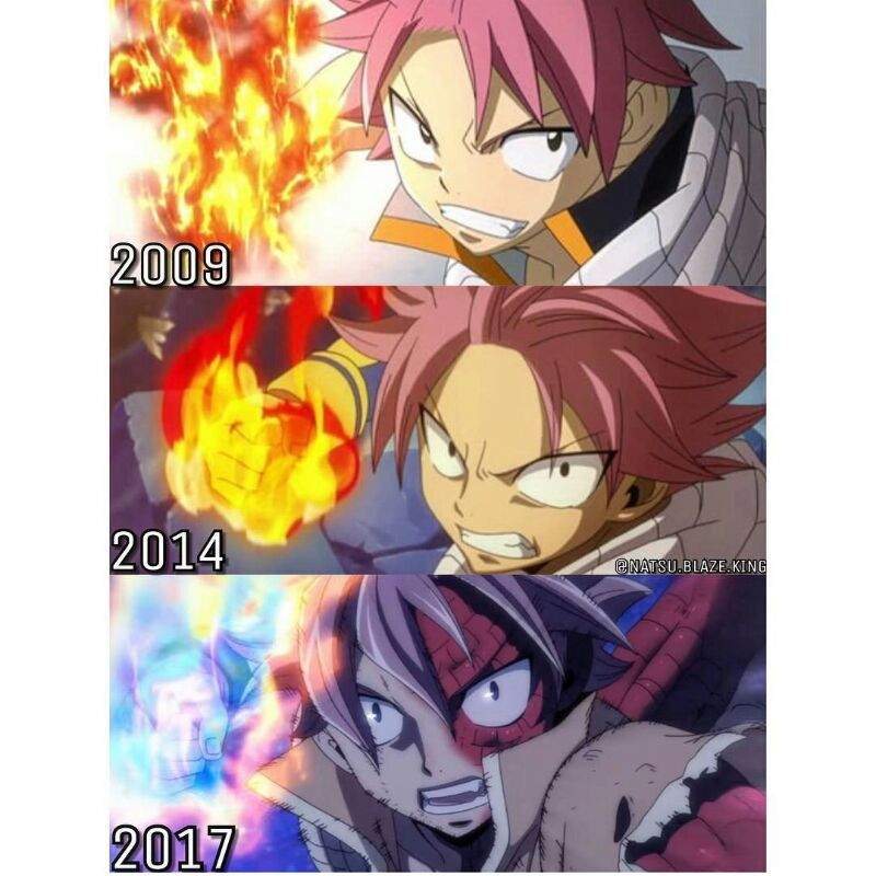 The evolution of Natsu and his flames | Fairy Tail Amino