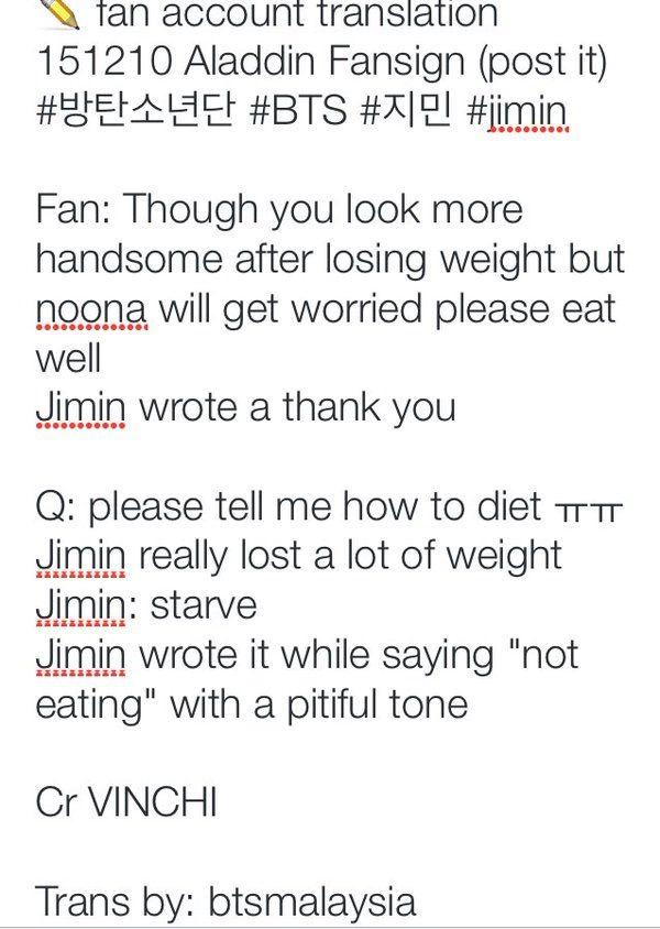 Jimin and Jungkook starving themselfs? | ARMY's Amino