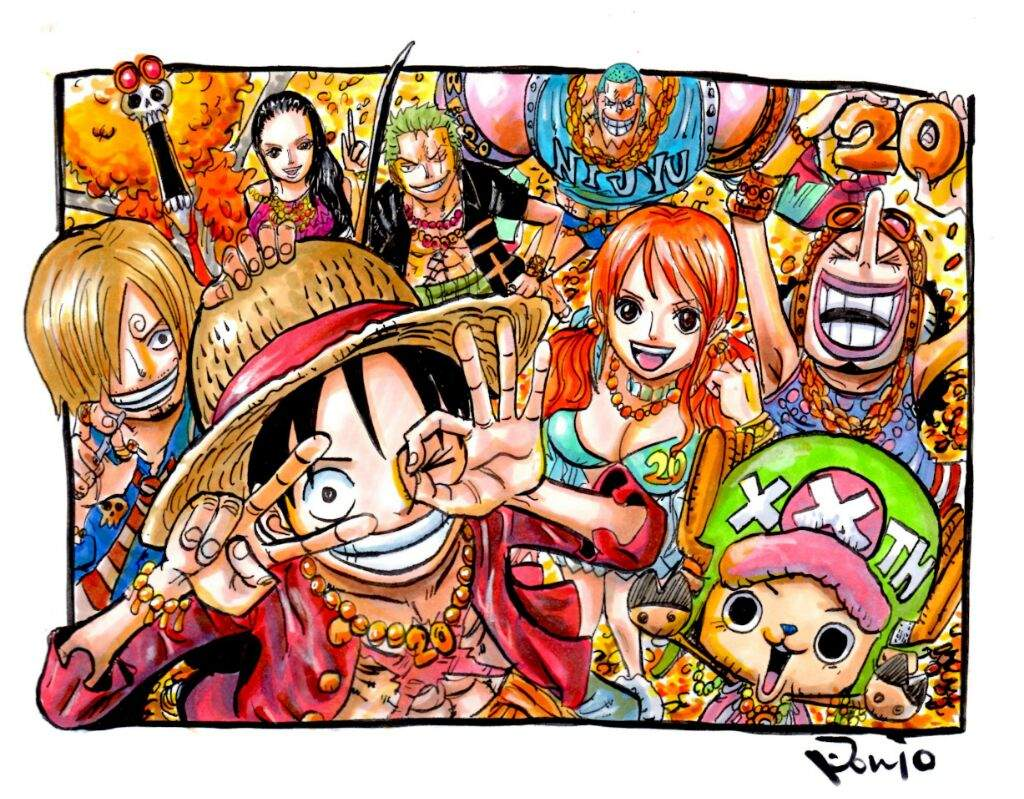 final number of strawhats one piece amino