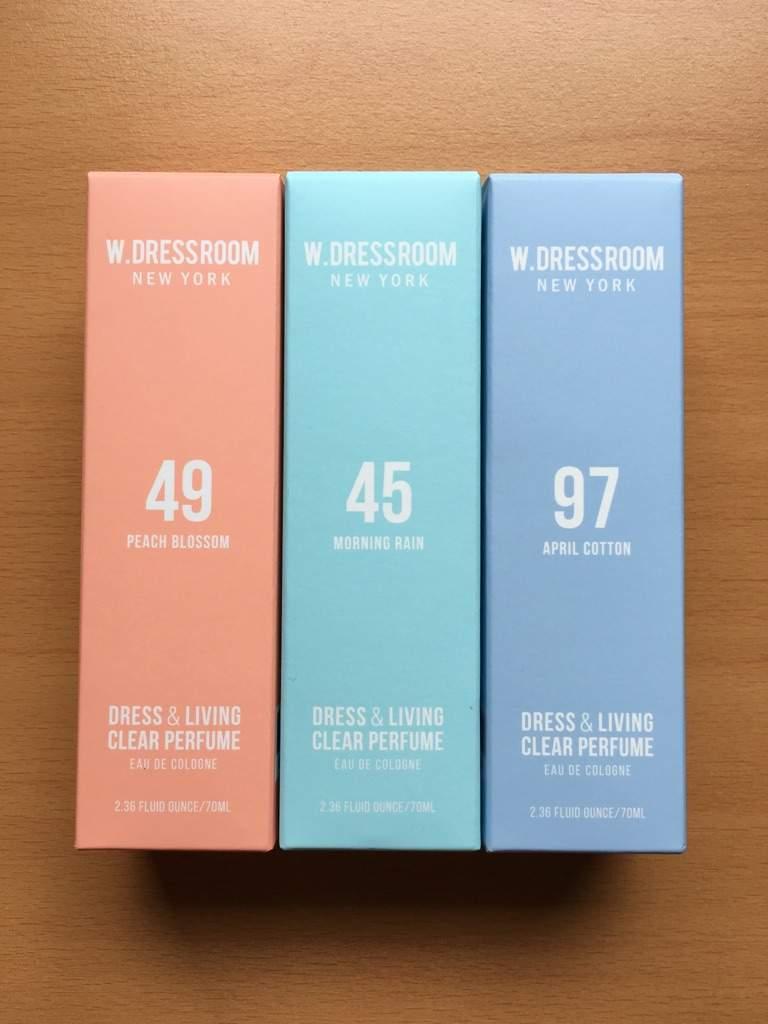 No. 49 Peach Blossom. No. 45 Morning Rain