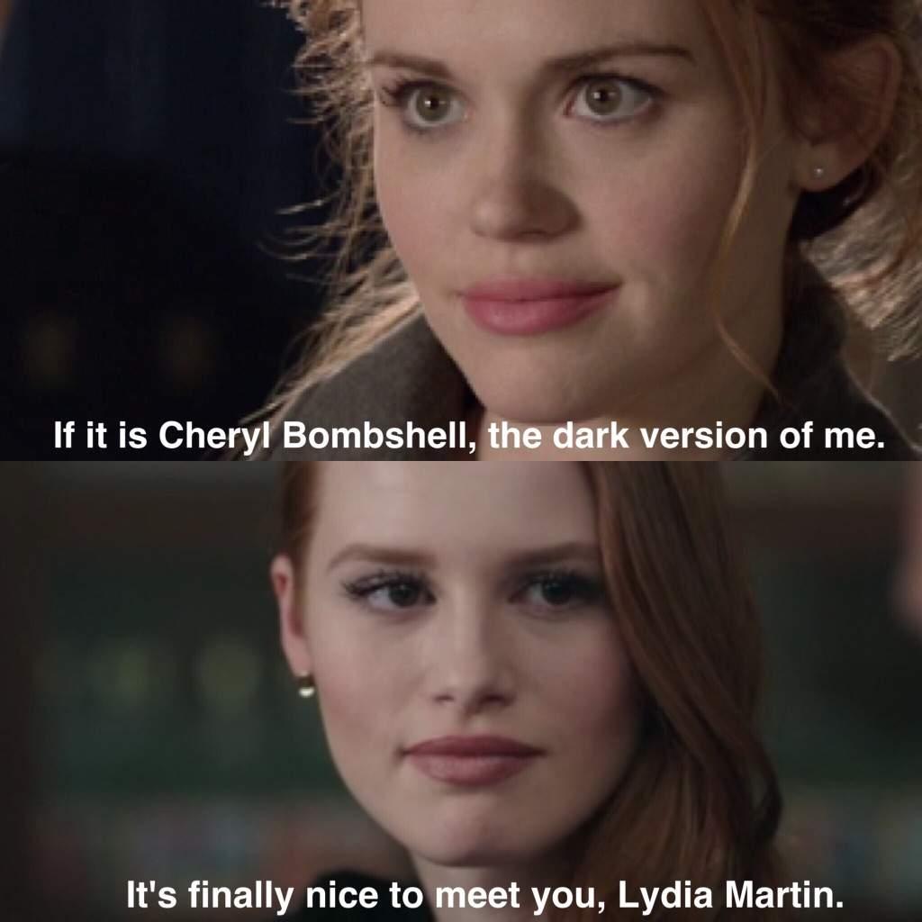 Lydia Teen Wolf And Cheryl Riverdale Amino