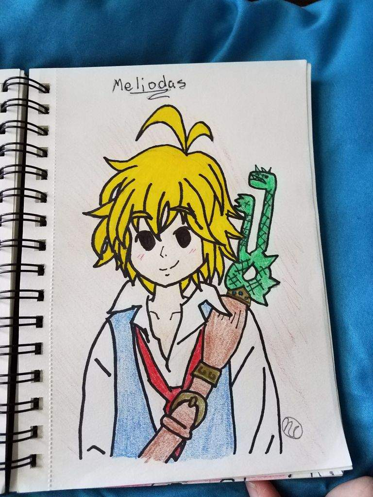 Meliodas Drawing Seven Deadly Sins Amino