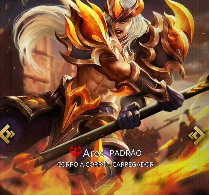 Ares | Wiki | Heroes Evolved PT/BR Amino