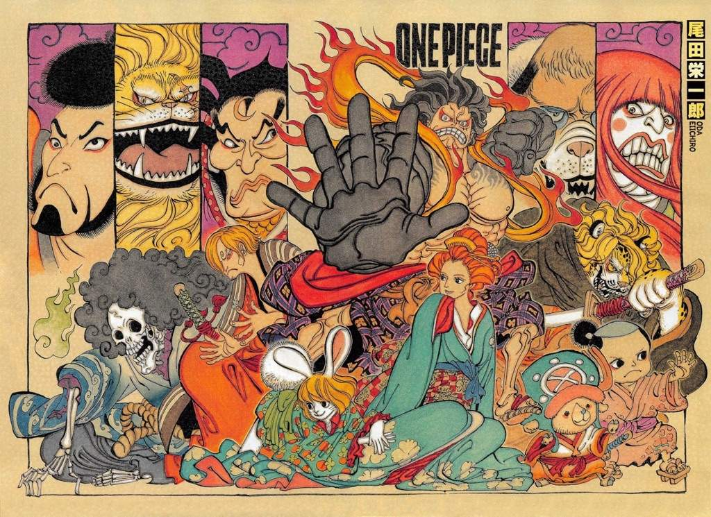 One Piece Wallpaper Hd Wano Bang Tarom