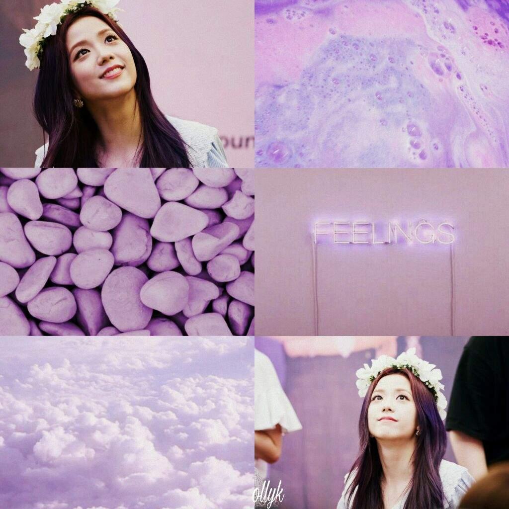 Jisoo Pastel Purple Aesthetic Kim Jisoo Amino
