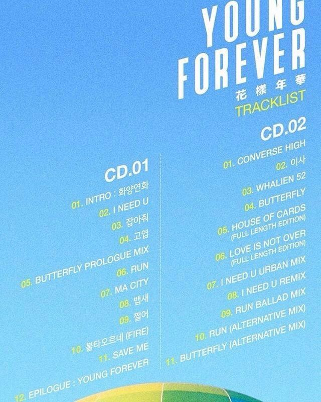 The Seventh Album The Most Beautiful Moment In Life Young Forever
