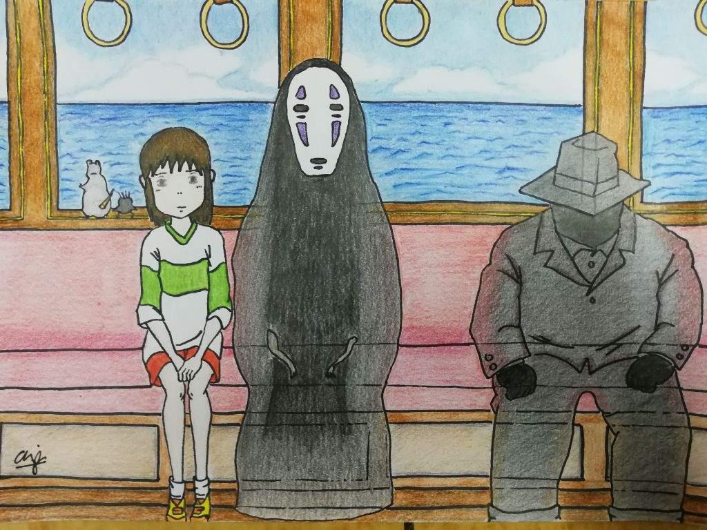 Drawing Of Chihiro No Face Spirited Away Studio Ghibli Amino
