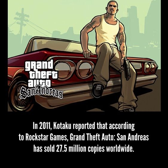 Gta San Andreas 27 intersting Facts About the Open World