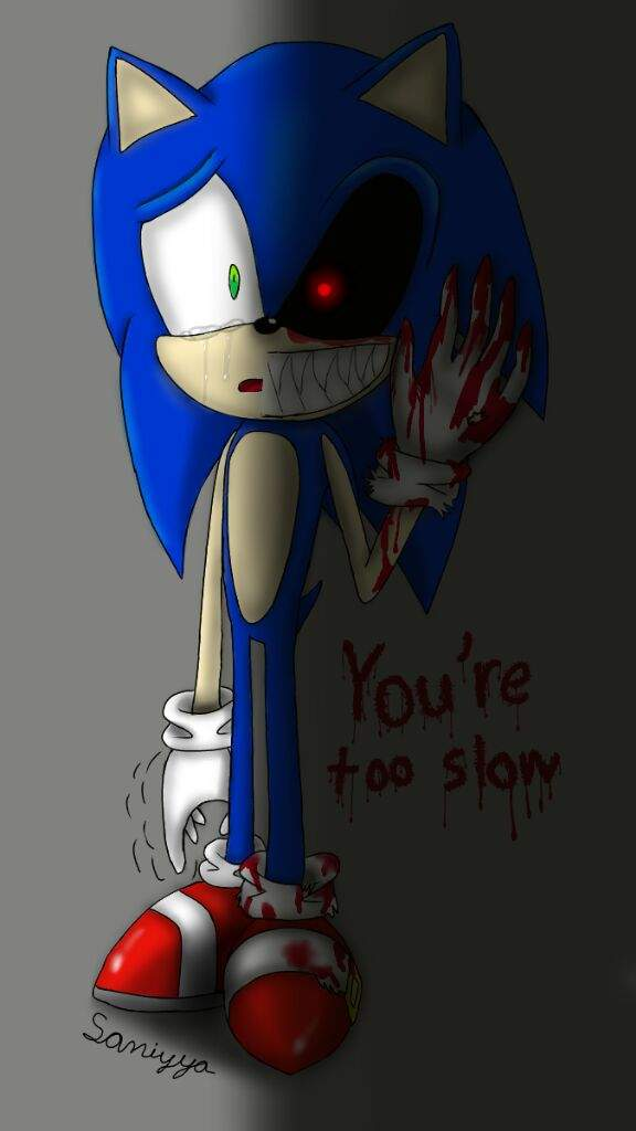 Sonicexe digital art drawing sonic the hedgehog amino this is my first digital art drawing so i hope you like it thecheapjerseys Gallery