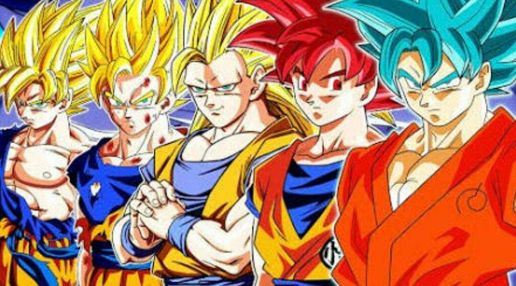 ranking the super saiyan forms from weakest to strongest