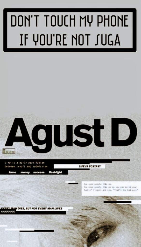 Agust D Wallpaper Lockscreen Army S Amino