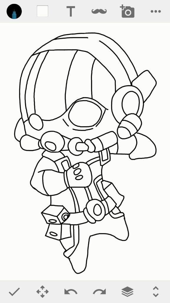 Dibujo de Ant-Man version chibi | •Arte Amino• Amino