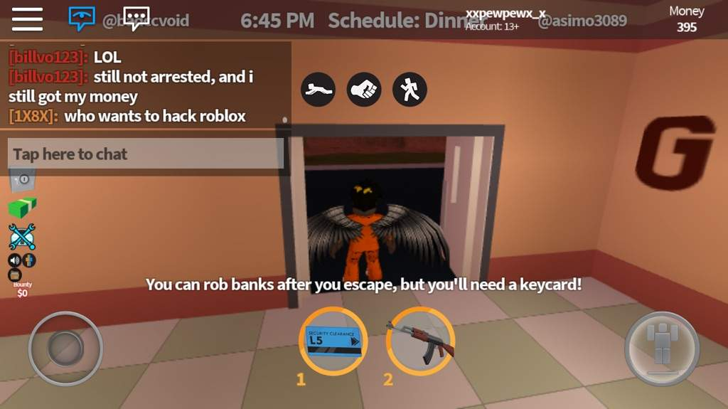 Roblox Be Ware Joined Jailbreak And Look What I Saw In The Chat