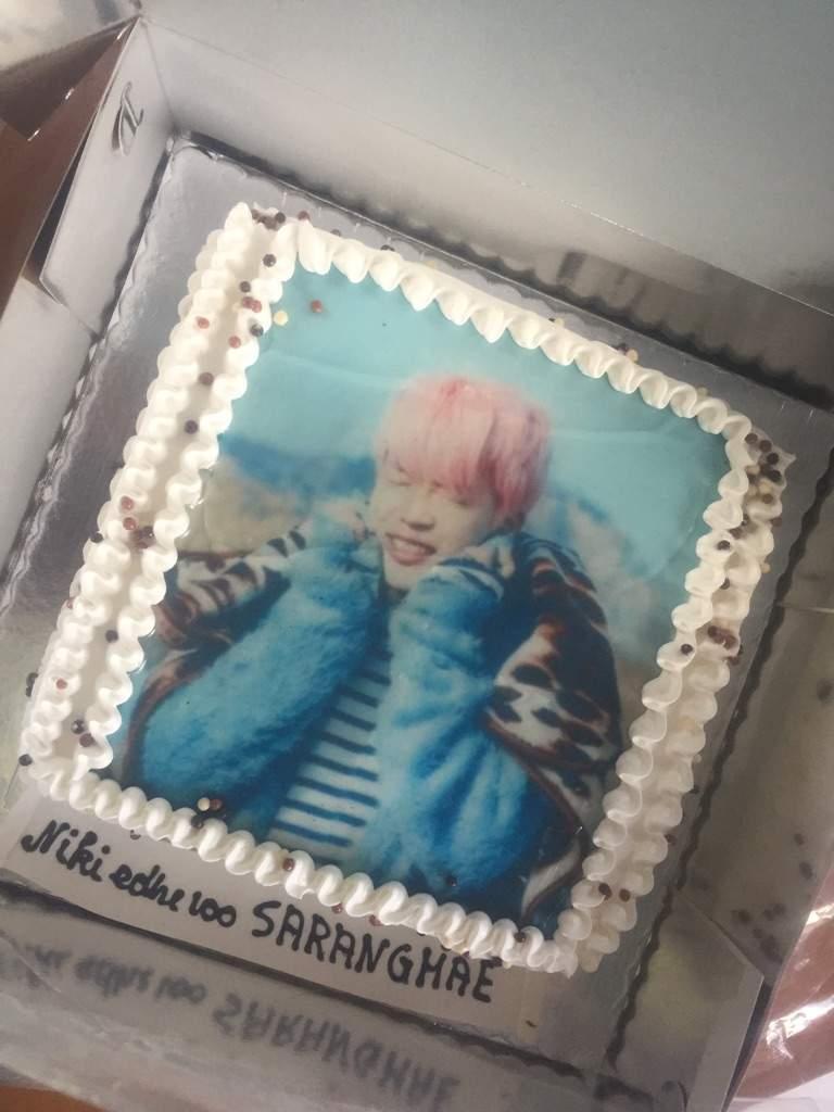Jimin Birthday Cake Armys Amino