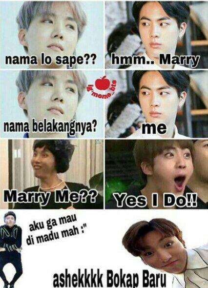 Meme Bts Lucukocak Bts Army Indonesia Amino Amino