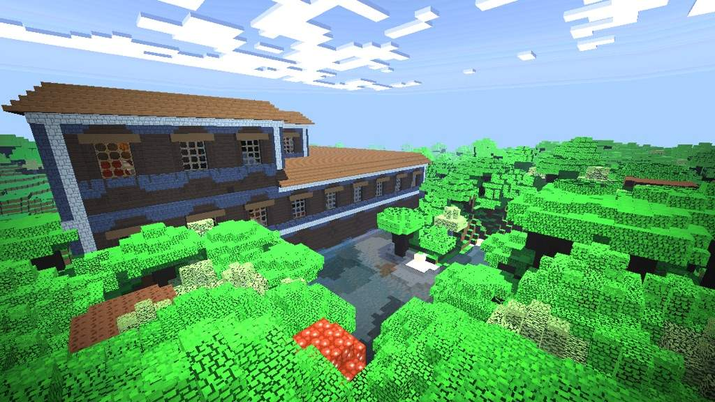 minecraft seed that spawns you in a mansion