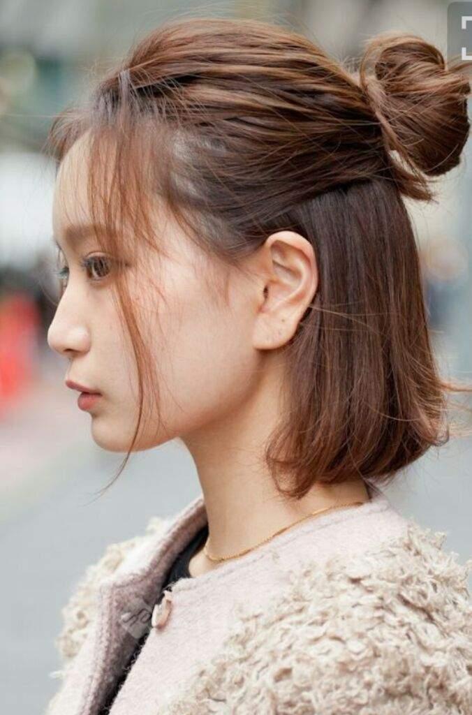 Exquisito peinados fáciles Fotos de cortes de pelo Consejos - Peinados coreanos super faciles y lindos💜 | • Moda y ...