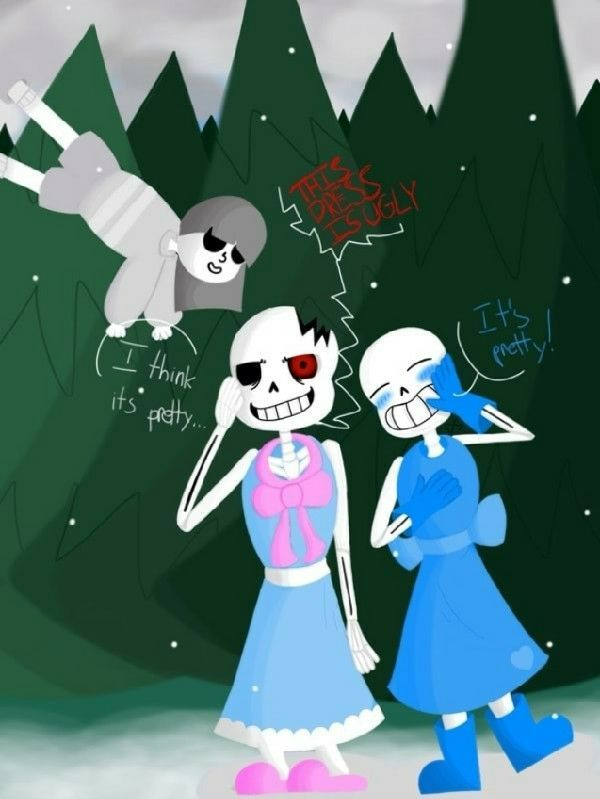 Beautiful - Horror and Blueberry Sans (and CORE Frisk) | Undertale Amino