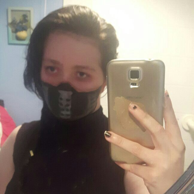 Face paint mask of winter soldier marvel   Cosplay Amino