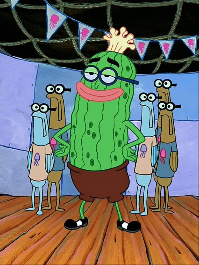 kevin the sea cucumber spongebob squarepants amino
