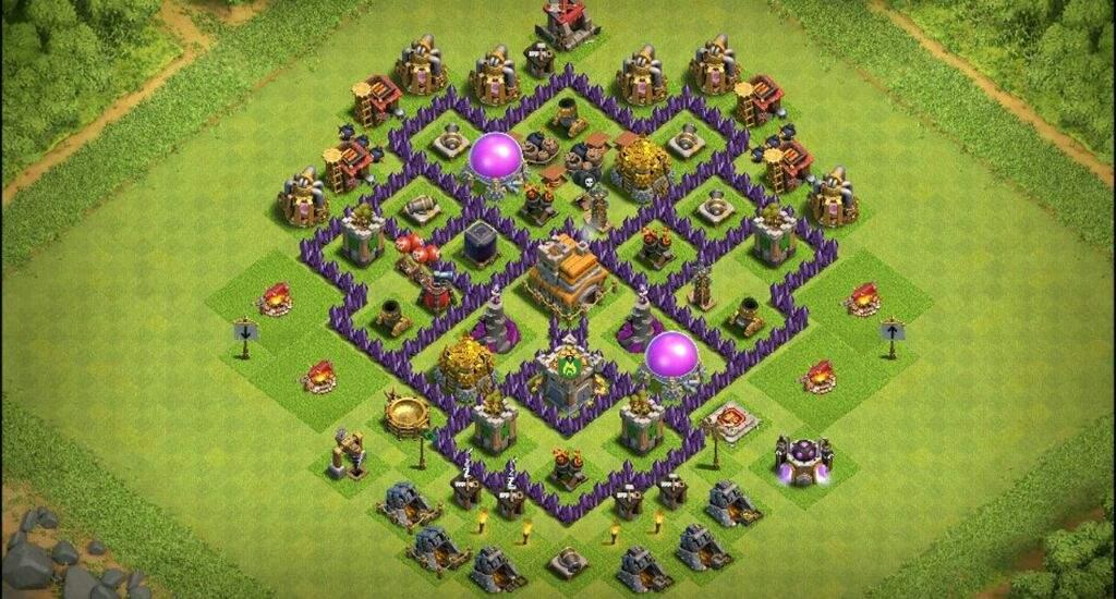push cv7 clash of clans pt br amino