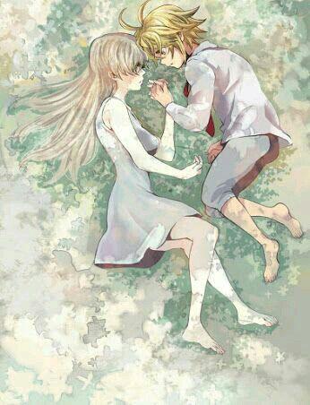 Fanart Nanatsu No Taizai Meliodas E Elizabeth - O casal mais lindo e antigo de nanatsu no taizai MELIODAS ...