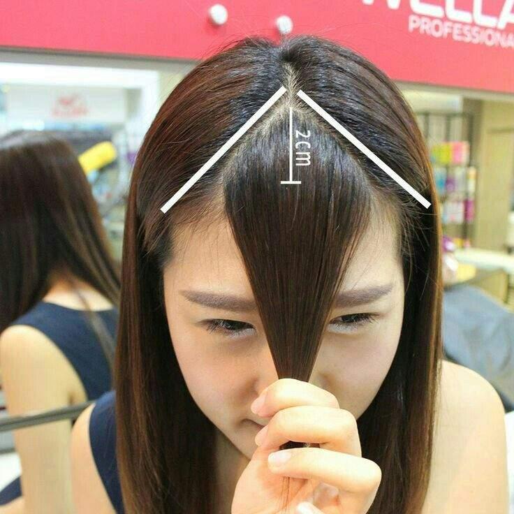 Como Cortar Flequillo Estilo Coreano Asiático Moda Y Belleza Asiática Amino