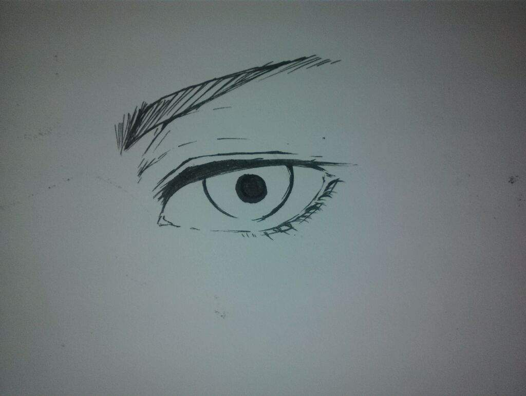 tutorial semi realistic eye anime art amino