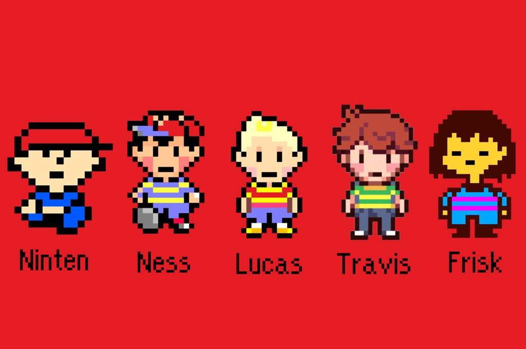 The Best Earthbound / MOTHER Characters
