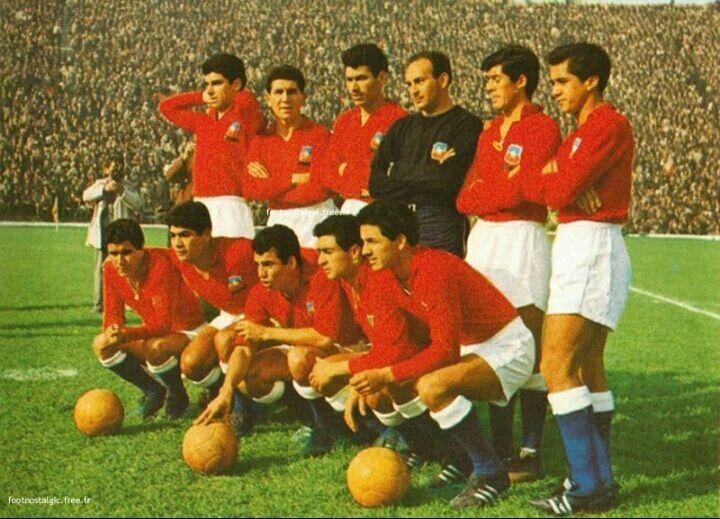 Resultado de imagen para La Seleccion Chilena de futbol 1956