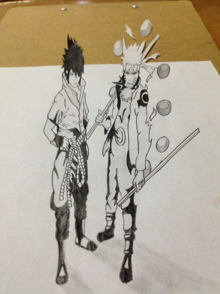 Naruto sasuke 3d