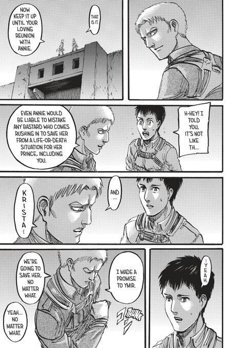 Why my favourite relationship in Attack on Titan is Reiner