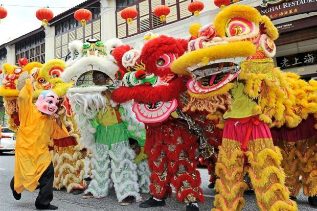Resultado de imagem para china Dança do Leão