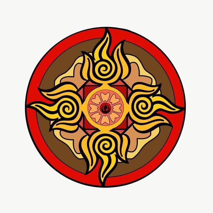 White Lotus Fire Nation Thingy Avatar Amino