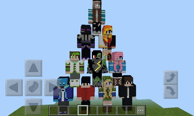 Statues of friends   Minecraft Amino