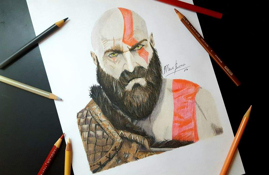 Kratos God Of War 4 Arte Amino Amino