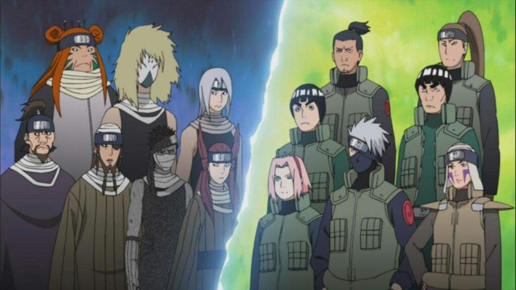 The seven swordsmen of the mist | Naruto Amino